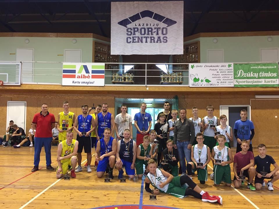 Varžybos, skirtos Lazdijų sporto centro 50-ties metų jubiliejui, paminėti
