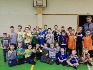 Draugiškos mažųjų futbolininkų varžybos