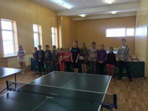 Vaikų stalo teniso turnyras