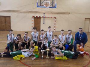 Tarptautiniame krepšinio turnyre Lazdijų sporto centro komanda pirma
