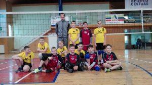 Lietuvos vaikų tinklinio čempionato pirmasis turas Lazdijuose