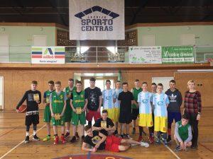 Moksleivių krepšinio 3×3 varžybos
