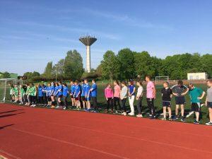Lazdijų rajono moksleivių lengvosios atletikos keturkovės varžybos