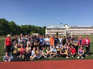 Moksleivių lengvosios atletikos keturkovės varžybos