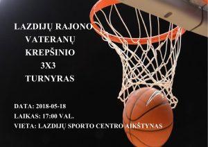 Read more about the article Lazdijų rajono veteranų 3×3 krepšinio turnyras