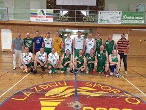 Lazdijų rajono veteranų 3×3 krepšinio turnyras