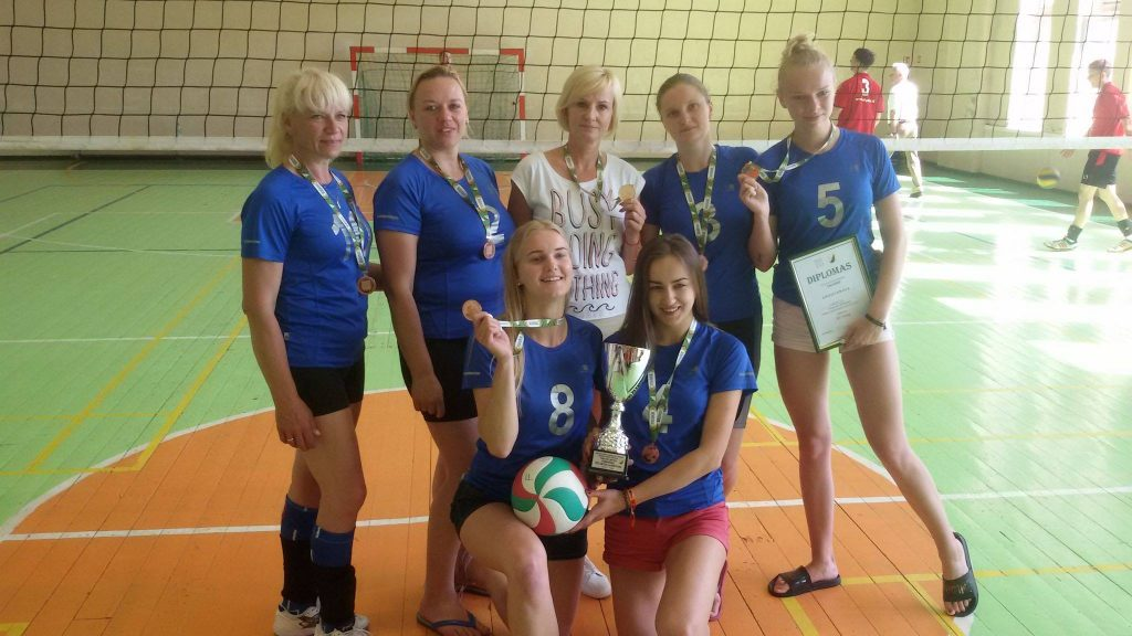 Tinklininkėms bronzos medaliai