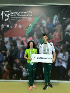 Nojus Jarmala aerobinės gimnastikos pasaulio čempionate