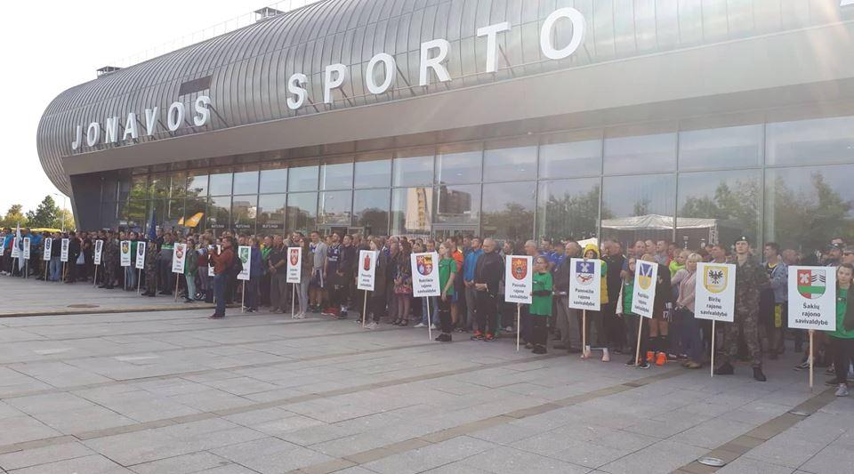 XI Lietuvos seniūnijų sporto žaidynių finalai