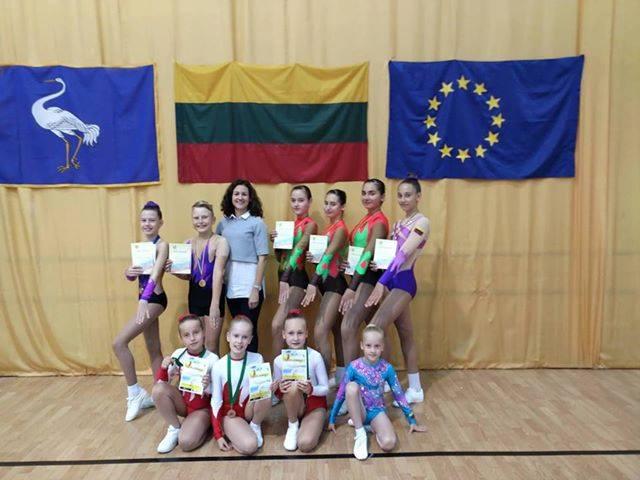 Read more about the article Aerobinės gimnastikos varžybos