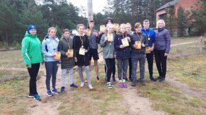 Lazdijų rajono moksleivių lengvosios atletikos kroso varžybos