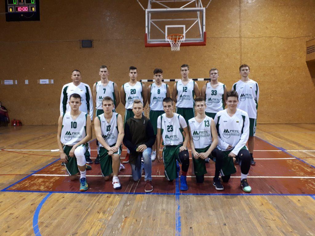 Lietuvos MKL U14 čempionato rungtynės