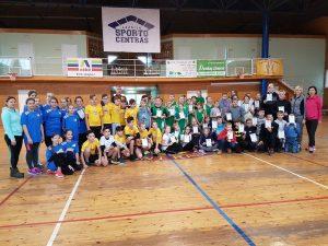 Lazdijų sporto centre vyko Lazdijų rajono 5-6 klasių moksleivių kvadrato varžybos