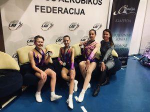 """Klaipėdoje vyksta aerobinės gimnastikos varžybos """"Klaipėda – 2018"""" ir """"Klaipėda Open – 2018"""""""
