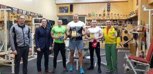 VšĮ Lazdijų sporto centras organizavo Lazdijų rajono štangos spaudimo varžybas