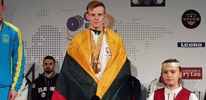 Lazdijų sporto centro auklėtinis Europos jėgos trikovės prizininkas!