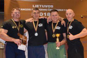 Lazdijų sporto centro treneris ir jo auklėtinis tapo Lietuvos čempionais!