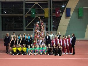 Lazdijų sporto centro keturi gimnastai dalyvavo varžybose Baltarusijoje