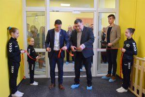 Lankytojų laukia atsinaujinęs Lazdijų sporto centras!