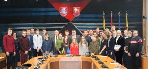 Meras apdovanojo veržlius, ambicingus ir talentingus Lazdijų krašto sportininkus!