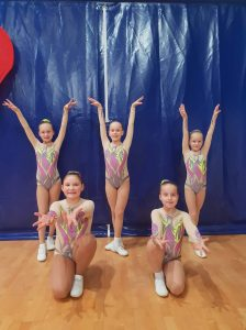 Aerobinės gimnastikos varžybos!