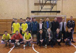 Salės futbolo turnyras Lietuvos Valstybės atkūrimo dienai paminėti!