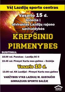 Read more about the article Krepšinio pirmenybės!