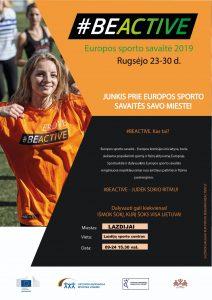 Read more about the article Europos sporto savaitė!