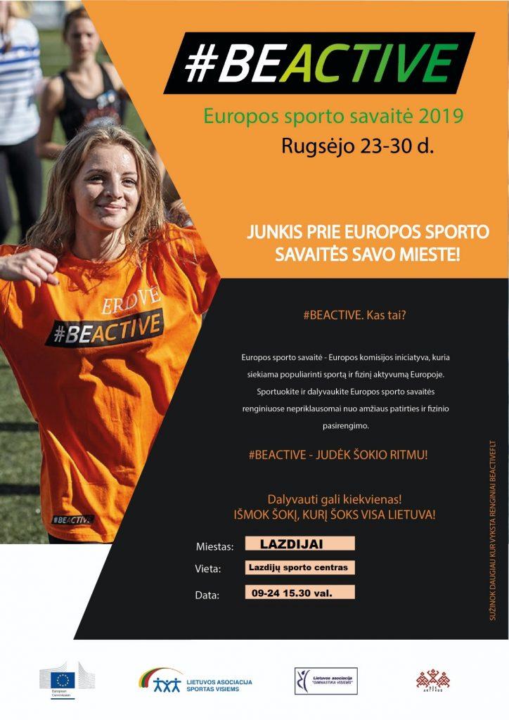 Europos sporto savaitė!