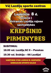 Prasideda 2019-2020 m. atvirosios Lazdijų rajono savivaldybės krepšinio pirmenybės!