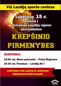 Read more about the article Krepšinio varžybos!
