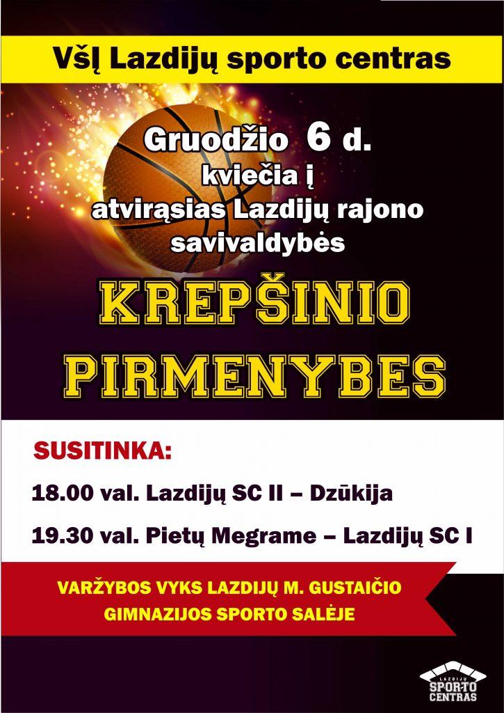 Krepšinio pirmenybės!