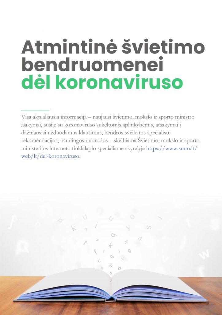 Read more about the article SVARBI INFORMACIJA!