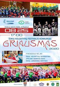 """Read more about the article ŠOKIŲ FESTIVALIS """"GRIAUSMAS""""!"""