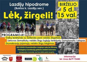 Read more about the article LĖK, ŽIRGELI!