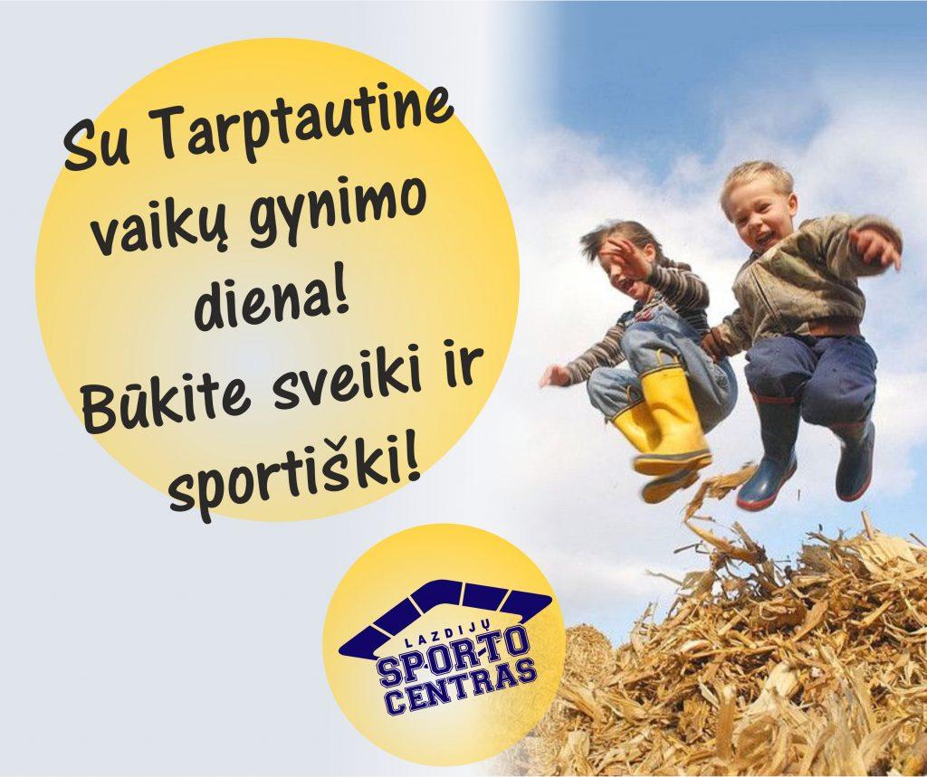 Read more about the article SVEIKINIMAI VAIKAMS!